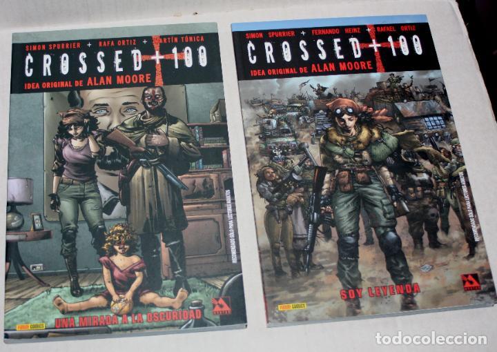Cómics: Crossed +100 TOMO 02 (Soy leyenda.)+ TOMO 03: (Una mirada a la oscuridad.).Idea original ALAN MOORE - Foto 4 - 266432113