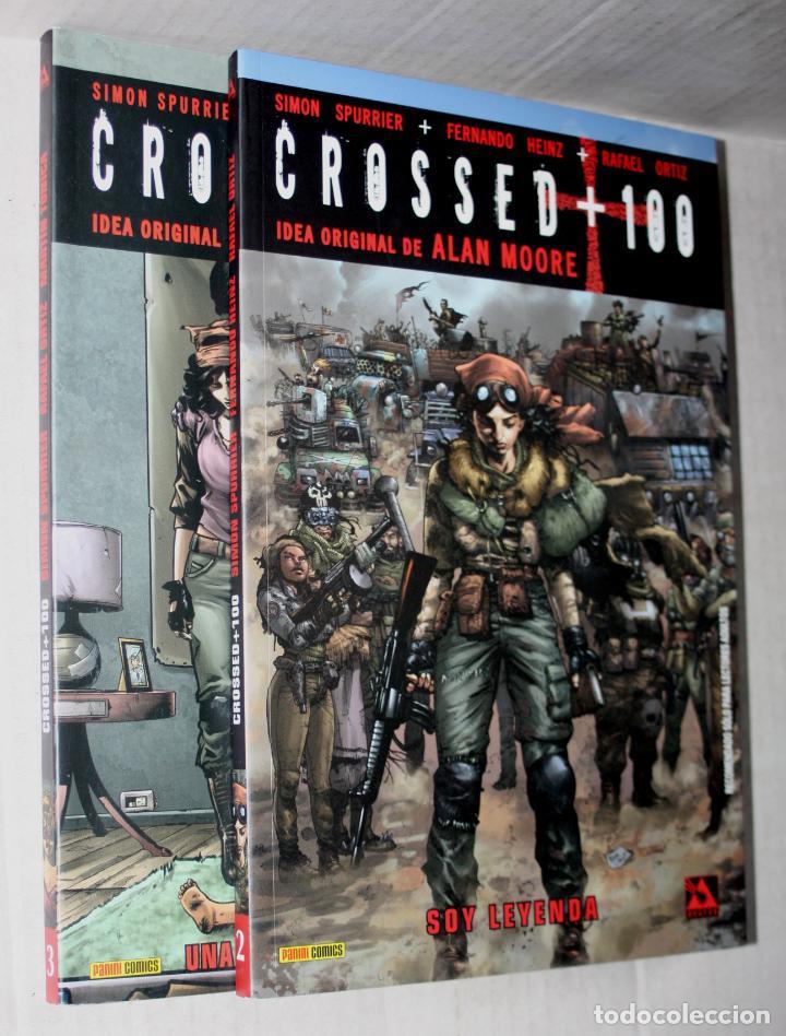 CROSSED +100 TOMO 02 (SOY LEYENDA.)+ TOMO 03: (UNA MIRADA A LA OSCURIDAD.).IDEA ORIGINAL ALAN MOORE (Tebeos y Comics - Panini - Otros)