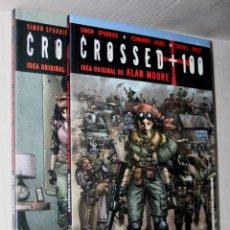 Cómics: CROSSED +100 TOMO 02 (SOY LEYENDA.)+ TOMO 03: (UNA MIRADA A LA OSCURIDAD.).IDEA ORIGINAL ALAN MOORE. Lote 266432113