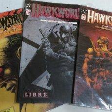 Cómics: HAWKWORLD, SERIE COMPLETA 3 NUMEROS, EDICIONES ZINCO-NUEVA. Lote 266594773