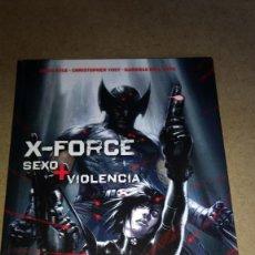 Cómics: X-FORCE SEXO + VIOLENCIA TOMO TAPA DURA COMICS PANINI -NUEVO. Lote 266595153