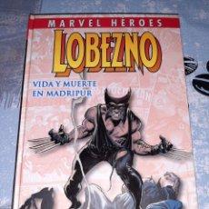 Cómics: LOBEZO VIDA Y MUERTE EN MADRIPUR, MARVEL HÉROES , PANINI. Lote 267516729
