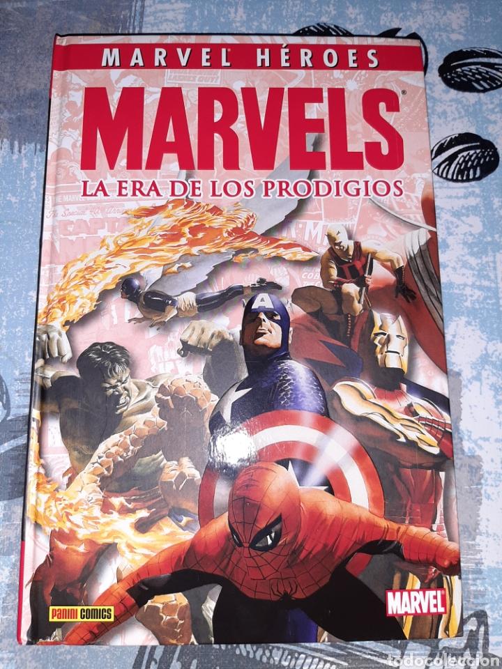 MARVELS LA ERA DE LOS PRODIGIOS, MARVEL HÉROES , PANINI (Tebeos y Comics - Panini - Marvel Comic)