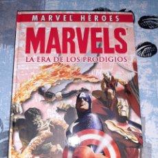 Cómics: MARVELS LA ERA DE LOS PRODIGIOS, MARVEL HÉROES , PANINI. Lote 267517164