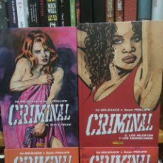 Cómics: CRIMINAL (4 TOMOS) ED BRUBAKER / SEAN PHILLIPS. Lote 267681954