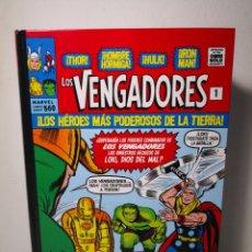 Cómics: LOS VENGADORES 1. ¡LOS HÉROES MÁS PODEROSOS DE LA TIERRA! MARVEL GOLD OMNIBUS. PANINI. Lote 267886429