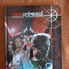 Cómics: NEW UNIVERSAL: TODO SE VOLVIÓ BLANCO. WARREN ELLIS-SALVADOR LARROCA. Lote 267887384