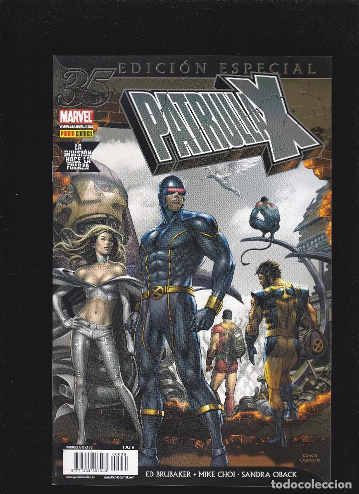 PATRULLA-X - VOL.3 - Nº 35 - LA DIVISIÓN HACE LA FUERZA - EDICIÓN ESPECIAL - PANINI - (Tebeos y Comics - Panini - Marvel Comic)