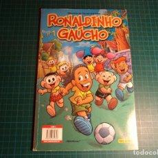 Cómics: RONALDINHO GAUCHO. N° 1. PANINI. (M-11).. Lote 268788929
