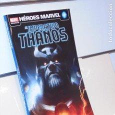 Cómics: HEROES MARVEL EL IMPERATIVO THANOS - PANINI. Lote 268882579