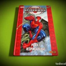 Cómics: ULTIMATE SPIDERMAN -PODER Y RESPONSABILIDAD -MARVEL. Lote 268931154