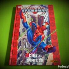Cómics: ULTIMATE SPIDERMAN -CURVA DE APRENDIZAJE -MARVEL. Lote 268931259