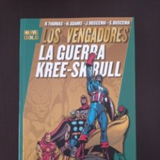 Cómics: LOS VENGADORES: LA GUERRA KREE-SKRULL (MARVEL GOLD PANINI) R.THOMAS, N.ADAMS, J.BUSCEMA, S.BUSCEMA. Lote 268955479