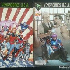 Cómics: VENGADORES USA 8,9. Lote 269170393