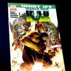 Cómics: DE KIOSCO EL INCREIBLE HULK 32 WORLD WAR COMICS PANINI COMICS. Lote 269192923