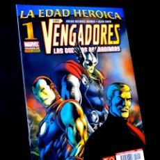 Cómics: DE KIOSCO LOS VENGADORES LAS GUERRAS ASGARDIANAS 1 COMICS PANINI COMICS. Lote 269194113