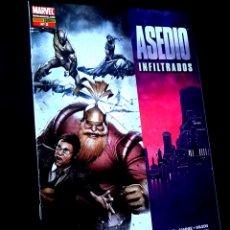 Cómics: DE KIOSCO ASEDIO INFILTRADOS 2 COMICS PANINI COMICS. Lote 269194723
