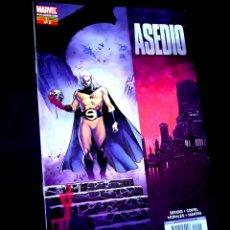 Cómics: EXCELENTE ESTADO ASEDIO 2 COMICS PANINI COMICS. Lote 269199918