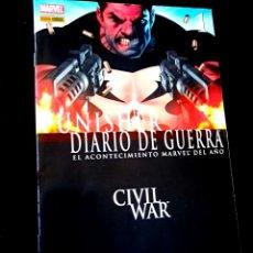 Cómics: CASI EXCELENTE ESTADO PUNISHER DIARIO DE GUERRA 1 COMICS PANINI COMICS. Lote 269200463