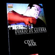 Cómics: MUY BUEN ESTADO PUNISHER DIARIO DE GUERRA 2 COMICS PANINI MARVEL. Lote 269200683