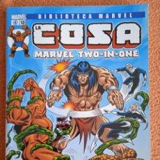 Cómics: DE KIOSCO LA COSA 13 BIBLIOTECA MARVEL TWO-IN-ONE PANINI COMICS TOMO. Lote 269209768