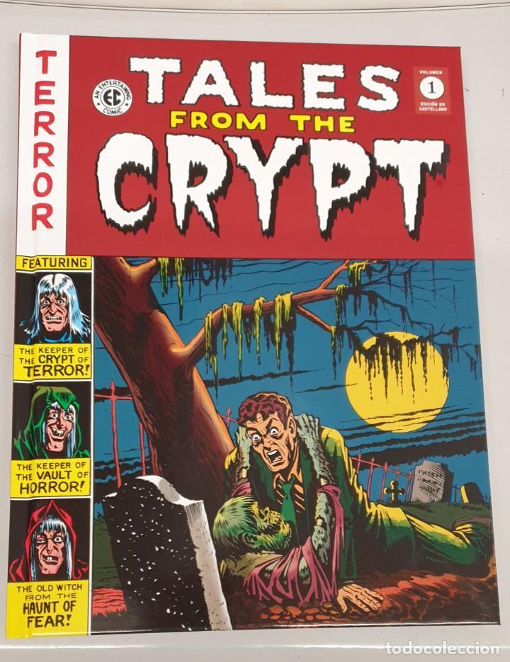 TALES FROM THE CRYPT Nº 1 / TERROR EC ARCHIVES / DIABOLO (Tebeos y Comics - Panini - Otros)