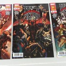 Comics: REY DE NEGRO ¡ COMPLETA 3 NUMEROS ! DONNY CATES / MARVEL - PANINI. Lote 293347813