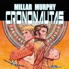 Cómics: CRONONAUTAS 1 2 - PANINI / EVOLUTION / TAPA DURA / MARK MILLAR. Lote 269934338