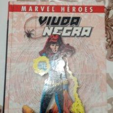 Cómics: COLECCIONABLE MARVEL HEROES: VIUDA NEGRA: RED DE INTRIGAS: PANINI. Lote 270190713