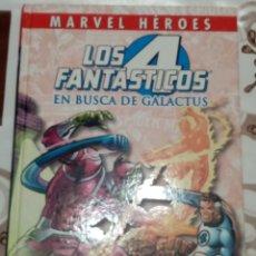 Cómics: COLECCIONABLE MARVEL HEROES: LOS 4 FANTASTICOS: EN BUSCA DE GALACTUS: PANINI. Lote 270190753