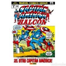 Cómics: CAPITÁN AMÉRICA Y EL HALCÓN 04: ¡EL OTRO CAPITAN AMERICA! (MARVEL GOLD OMNIBUS). Lote 270264118