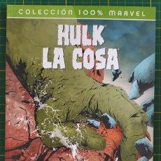 Cómics: HULK LA COSA A GOLPES PANINI 100% CULT COMICS PANINI TOMO TAPA BLANDA. Lote 270345098