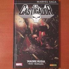 Cómics: MARVEL SAGA. EL CASTIGADOR 4 MADRE RUSIA PANINI CÓMICS. Lote 270359078