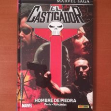 Cómics: MARVEL SAGA. EL CASTIGADOR 9 HOMBRE DE PIEDRA PANINI CÓMICS. Lote 270359238