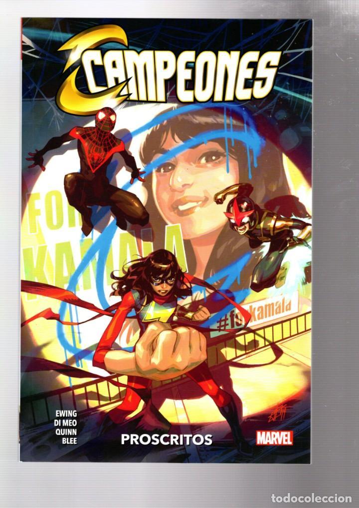 CAMPEONES : POSCRITOS - PANINI / MARVEL / RÚSTICA (Tebeos y Comics - Panini - Marvel Comic)