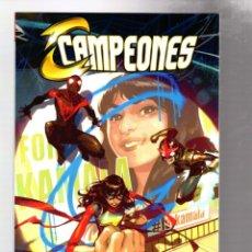 Cómics: CAMPEONES : POSCRITOS - PANINI / MARVEL / RÚSTICA. Lote 271156258