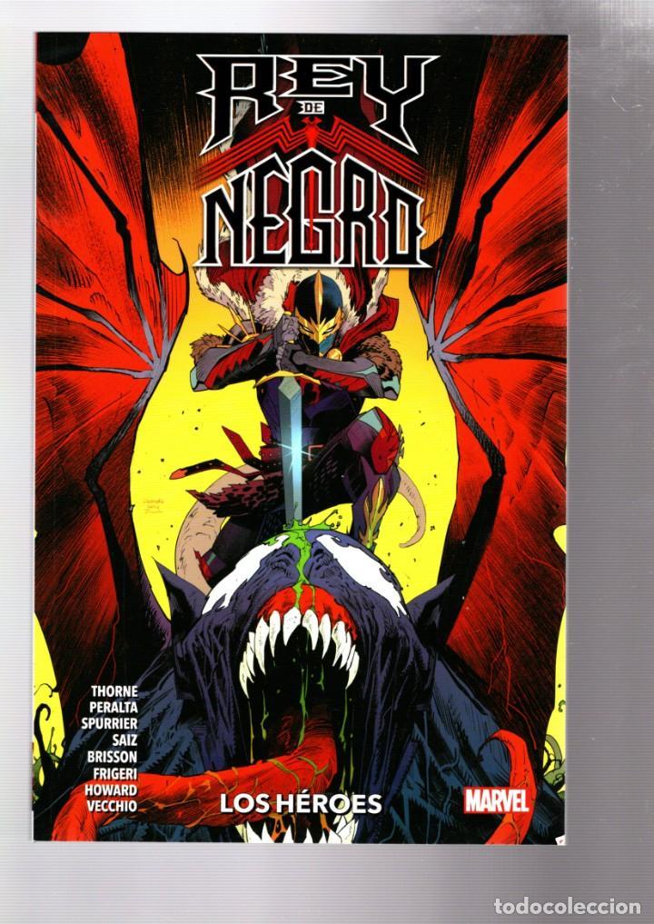 REY DE NEGRO : LOS HÉROES - PANINI / MARVEL / RÚSTICA (Tebeos y Comics - Panini - Marvel Comic)