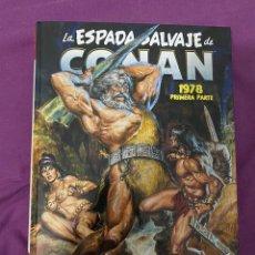Cómics: MARVEL OMNIBUS. LA ESPADA SALVAJE DE CONAN: LA ETAPA MARVEL ORIGINAL 4. Lote 271677803