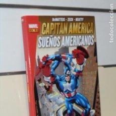 Fumetti: MARVEL GOLD CAPITAN AMERICA SUEÑOS AMERICANOS DEMATTEIS CON SOBRECUBIERTA DE PROTECCION - PANINI. Lote 272086138