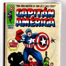 Cómics: CAPITAN AMERICA 1 : LA LEYENDA VIVIENTE - PANINI / MARVEL OMNI GOLD / TAPA DURA. Lote 272166878