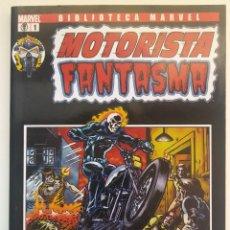 Cómics: BIBLIOTECA MARVEL MOTORISTA FANTASMA Nº 1. PANINI COMICS.. Lote 273461458