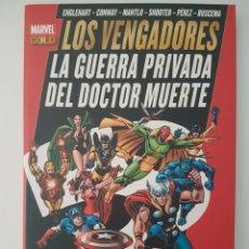 Cómics: MARVEL GOLD LOS VENGADORES - LA GUERRA PRIVADA DEL DOCTOR MUERTE - TOMO PANINI. Lote 253307880