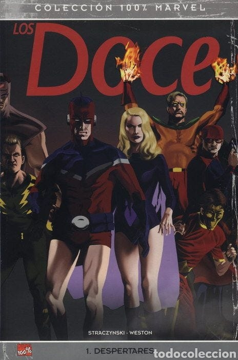 100% MARVEL. LOS DOCE 1 (J MICHAEL STRACZYNSKI ) (Tebeos y Comics - Panini - Otros)