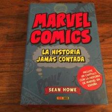 Fumetti: MARVEL COMICS. LA HISTORIA JAMÁS CONTADA. SEAN HOWE PANINI ESPAÑA. Lote 275056603