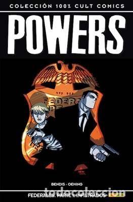 100% CULT COMICS POWERS - BRIAN MICHAEL BENDIS Y AVON OEMING 16 TOMOS COMPLETA (Tebeos y Comics - Panini - Otros)