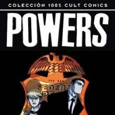 Cómics: 100% CULT COMICS POWERS - BRIAN MICHAEL BENDIS Y AVON OEMING 16 TOMOS COMPLETA. Lote 275073333