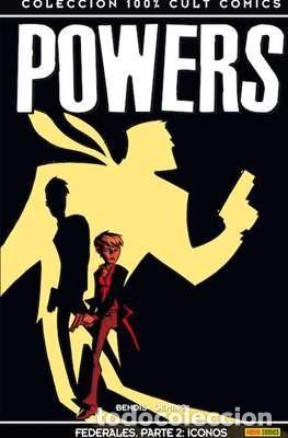Cómics: 100% CULT COMICS POWERS - BRIAN MICHAEL BENDIS Y AVON OEMING 16 TOMOS COMPLETA - Foto 2 - 275073333