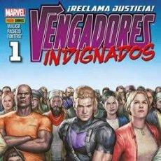 Cómics: VENGADORES INDIGNADOS COMPLETA 9 NÚMEROS - OJO DE HALCÓN. Lote 275081833