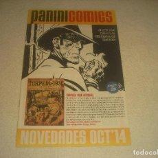 Cómics: PANINI COMICS . NOVEDADES OCT 14. CATALOGO.. Lote 275210868