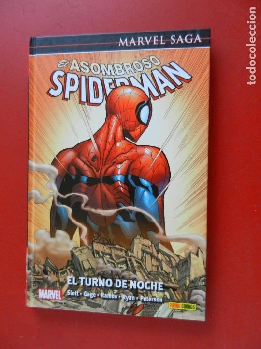 EL ASOMBROSO SPIDERMAN - MARVEL SAGA Nº 49 - EL TURNO DE NOCHE - MARVEL 2021- NUEVO. (Tebeos y Comics - Panini - Marvel Comic)